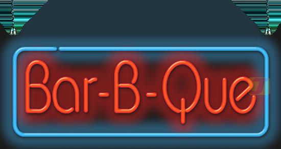Bar B Que Neon Sign Fb 30 29 Jantec Neon