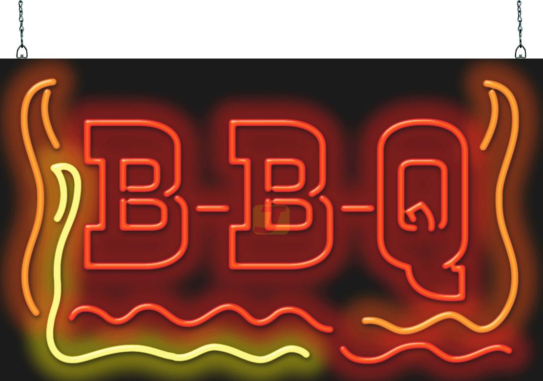 BBQ Neon Sign Super Large | FBZ-70-65 | Jantec Neon