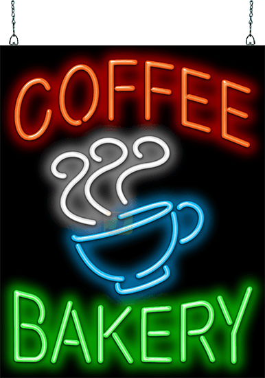 Coffee Bakery With Coffee Cup Neon Sign Fc 50 31