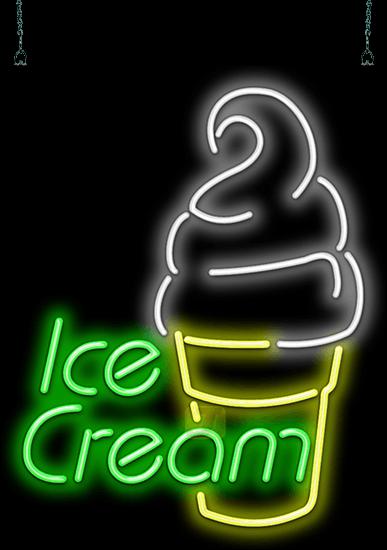 Neon Ice Cream Signs | JantecNeon com