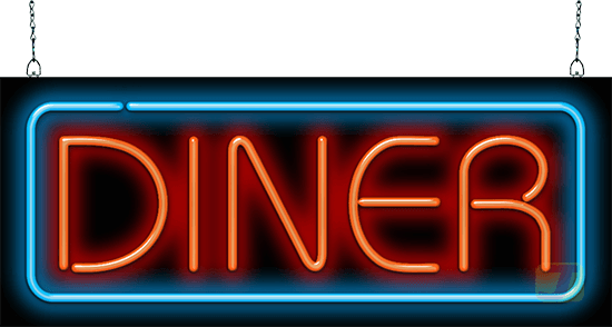 Diner Neon Sign Fg 30 38 Jantec Neon