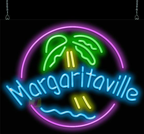 Margaritaville Neon Sign Fl 50 24 Jantec Neon