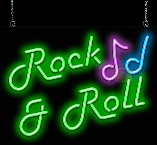 Rock Amp Roll Neon Sign Fm 25 04 Jantec Neon