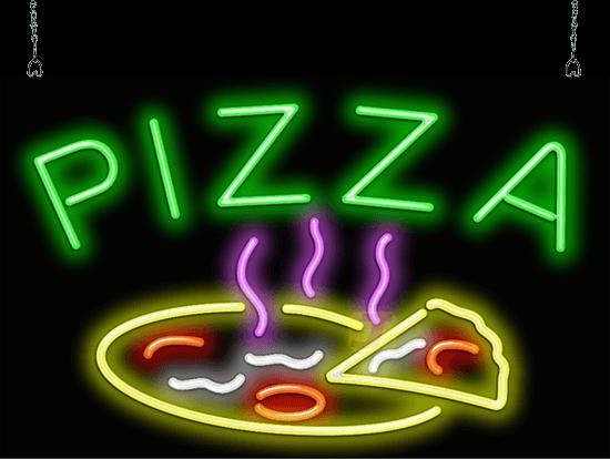Pizza W Pizza Neon Sign Fpz 40 18 Jantec Neon