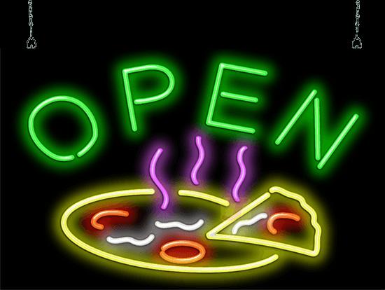 Pizza Open Neon Sign Fpz 40 19 Jantec Neon