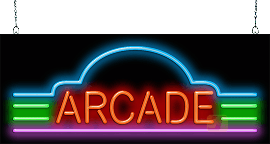 Arcade Neon Sign Gr 30 02 Jantec Neon