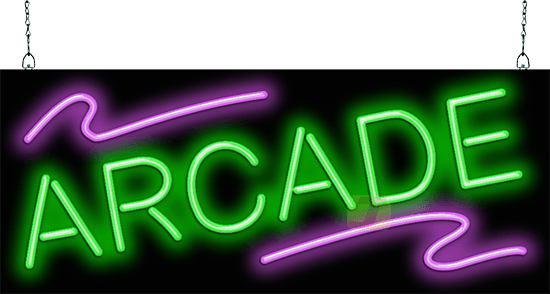 Arcade Neon Sign Gr 30 07 Jantec Neon