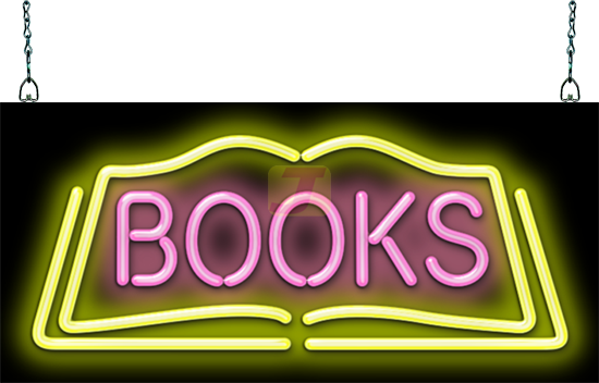 Books Neon Sign Gs 15 108 Jantec Neon