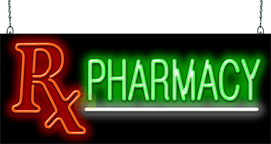 Pharmacy Neon Sign Gs 30 07 Jantec Neon