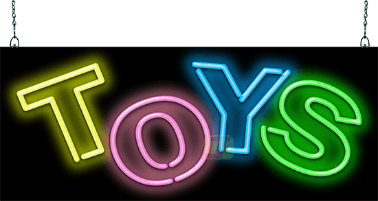 Toys Neon Sign Gs 30 37 Jantec Neon