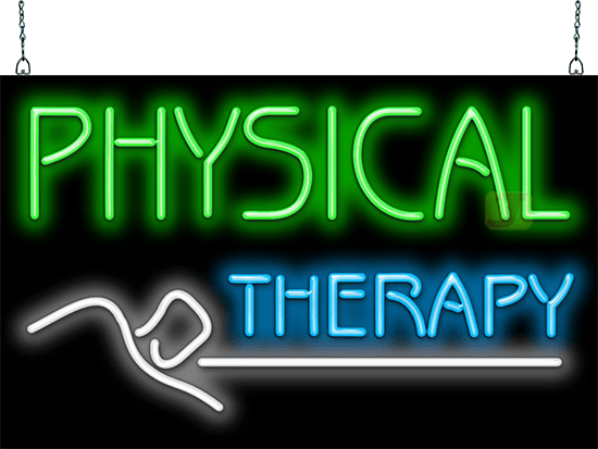Physical Therapy Neon Sign Hn 40 07 Jantec Neon