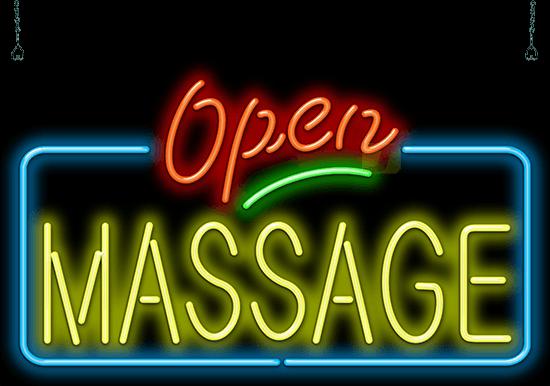 Massage Open Neon Sign Hn 70 82 Jantec Neon