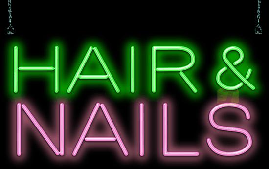 Neon Hair Salon Signs | JantecNeon.com