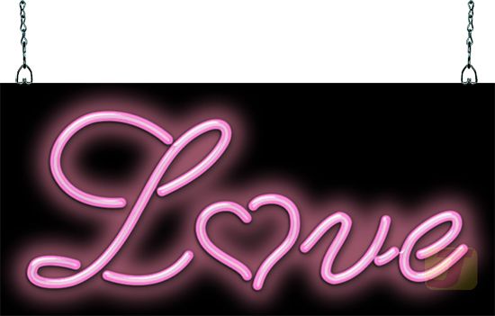 Love Neon Sign Pink Love Neon Jantecneon Com
