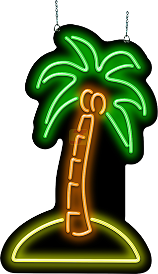 Palm Tree Neon Sign Hs 40 08 Jantec Neon