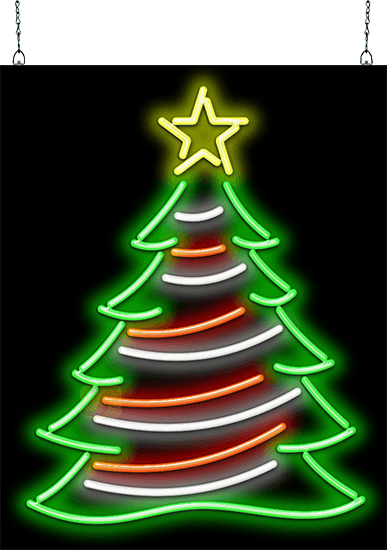 Christmas Tree Neon Sign Hs 50 04 Jantec Neon