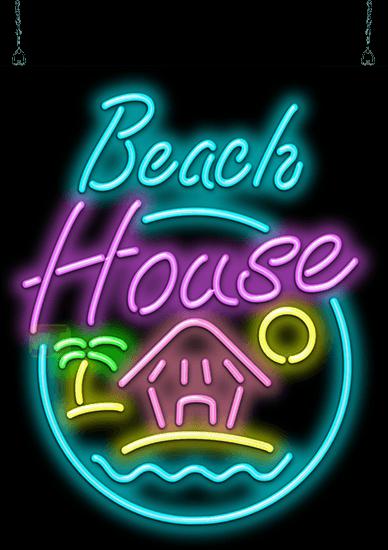 Beach House Neon Sign Hs 50 11 Jantec Neon