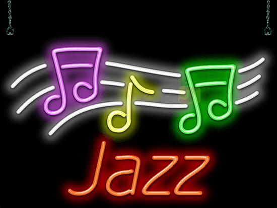 Jazz Neon Sign Mg 40 04 Jantec Neon