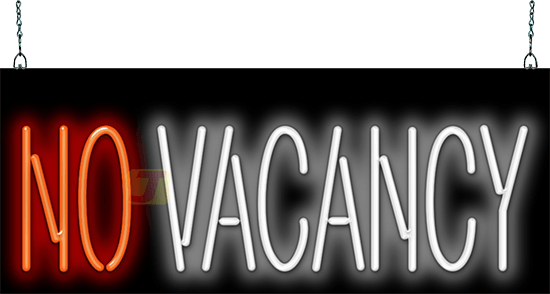 No Vacancy Neon Sign Mh 30 20 Jantec Neon
