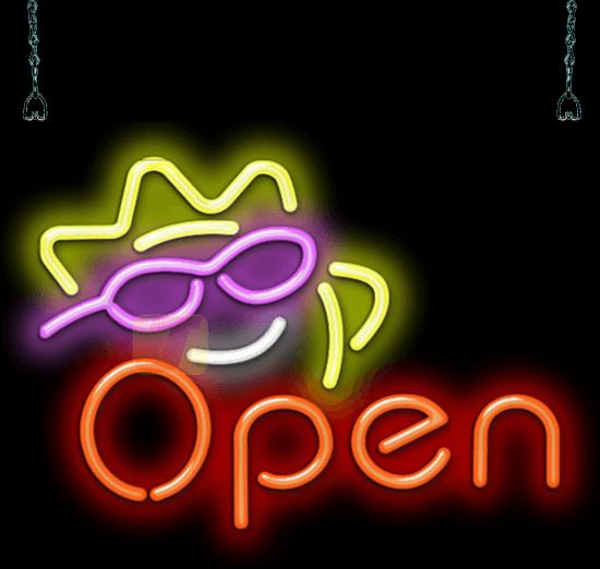 5518d4e08 Sunshine Neon OPEN Sign