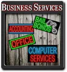 Business Services Neon Signs